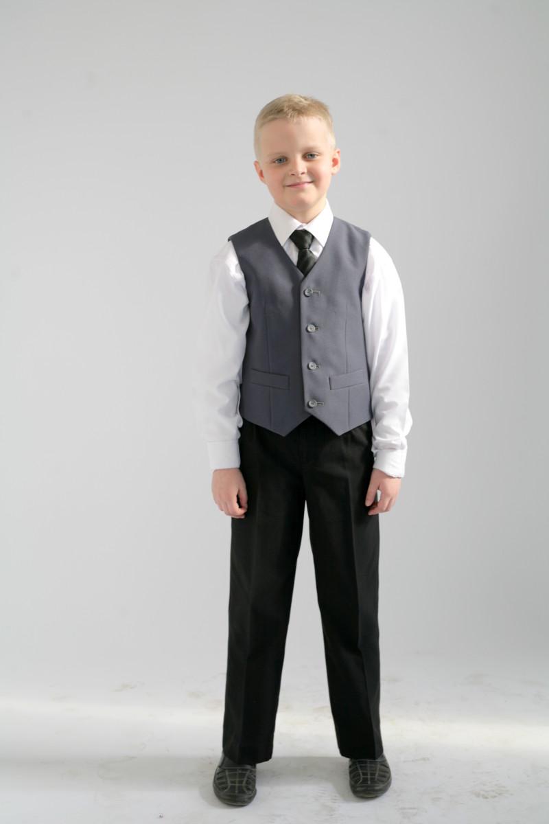 Жилет для мальчика школьный спб