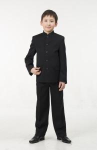 пиджак-френч арт. 302 -черный габардин