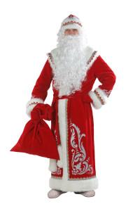 Дед Мороз апплик. красн.(146)