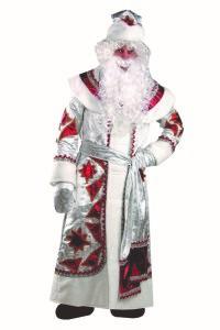 Дед Мороз серебряно-красн.(161)3х2