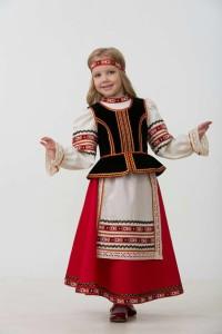 Костюм славянский